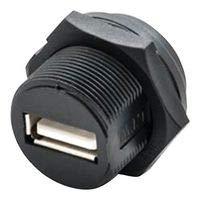 AMPHENOL LTW Sealed USB, 2.0 Type A, Plug, IP68 UA-20PMFP-SC8001