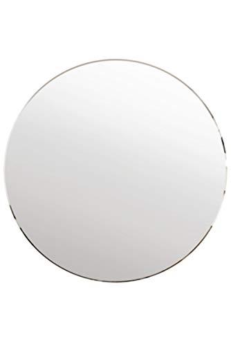 MirrorOutlet All Glass Bevelled Classic Design Round Mirror 80 x 80CM 2ft8...