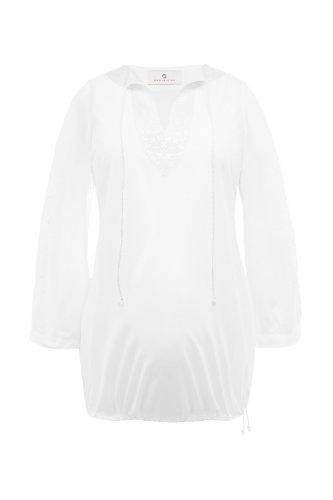 bellybutton Damen Umstandsmode Bluse 1020900-90501, Gr. 38 (M), Wei (white)