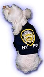 NYPD Dog T-shirts for Dogs 12-25 lbs.