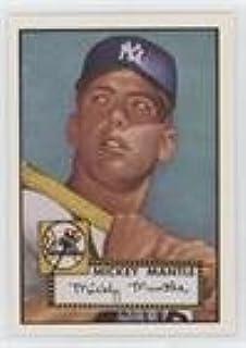 Amazoncom Mickey Mantle Baseball Card 1991 Topps East Coast