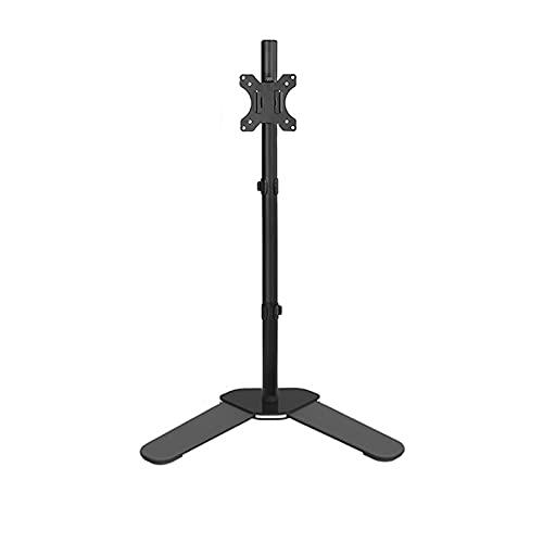 zlw-shop Soporte de Monitor de Montaje de Soporte de Monitor Ajustable de 10'-32' Soporte de Montaje en el Soporte de Montaje en el Piso, sostiene 4.4 a 19.8 lbs (Style : B)