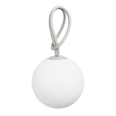 Fatboy® Bolleke Light Grey | Hängelampe für Innen & Außen | ohne Kabel | aufladbar mit USB