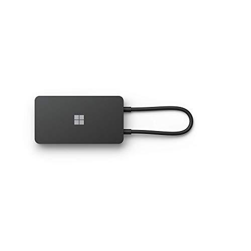 Microsoft SWV-00003- USB-C Travel HUB, Color Negro
