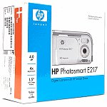HP Photosmart E217 4MP 4x Digital Zoom Camera