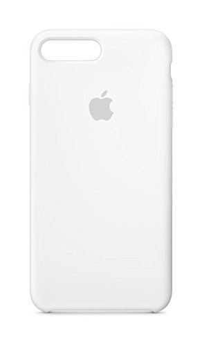 Apple Silikon Case (für iPhone 8 Plus / 7 Plus) - Weiß