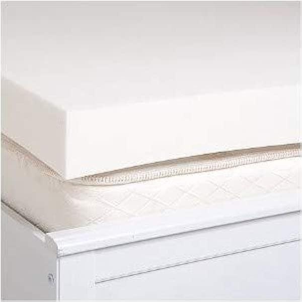 美国制造大号 2 英寸厚结实传统聚氨酯泡沫床垫垫子床头美国制造