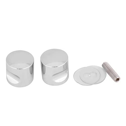 Gugxiom Perilla para Puerta de Ducha, Perilla para Puerta de baño de aleación de Aluminio para Puerta de Vidrio de 4~16 mm de Espesor(Aleación de Aluminio * 3)