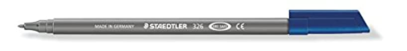 Staedtler Noris Club 326–8 tip Approx. 1.0 MM, Washes Out, Pack of 10 in Cardboard Grey