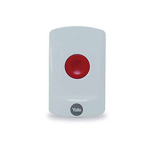 Yale AC-PB Sync Smart Home Alarm Accessory Panic Button, White, DIY Friendly, Accessory for IA Alarms, for Alarm Activation
