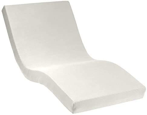 Dormabell Premium Spannbetttuch, extra hoch (für Matratzen 25-35cm) speziell für Boxspring- oder Wasserbett entwickelt, elastisch | Blickdicht | bügelfrei | langlebig (weiß, 120 x 200 cm)