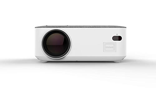 RCA Home Theater Projector 1080p Compatible w/ HDMI & Bluetooth 5.0 White (Renewed)