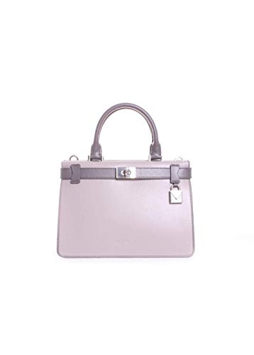 "10.75""W x 7.5""H x 4.25""D Silver-Tone Hardware 2 main pockets, 1 center zip pocket, wall pocket with zip closure, turn-lock closure slip pocket 4.5"" drop Adjustable strap with a 21""-23"" drop"