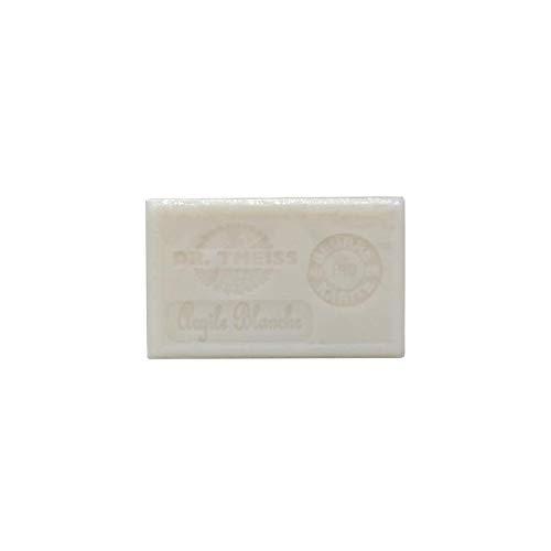 Jabón de Marsella - arcilla blanca + manteca de karité orgánica 1 unidad