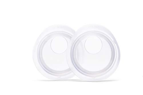 Elvie Catch Copas Seguras para Almacenaje de Leche – Set de 2 Copas de Silicona para Extracción de Leche Sin Derrames. Reutilizable, Discreto y Sin BPA