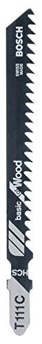 Bosch 2 609 256 716 - Hoja de sierra de calar HCS, T 111 C (pack de 2)