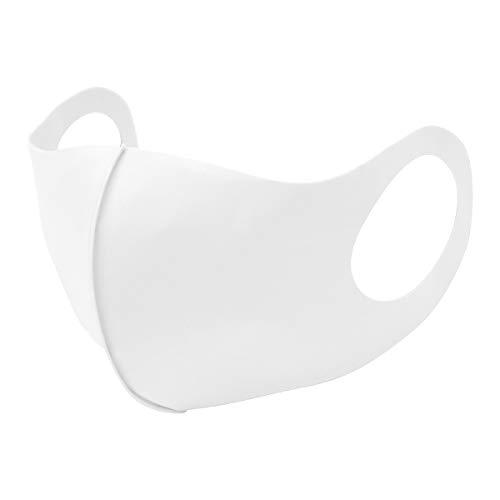 [Amazon限定ブランド] FENQ 冷感マスク 洗える 夏秋用マスク Q-MAX値0.399 繰り返し使える 紫外線対策 男女兼用 マスク 3枚入り 息苦しくない ホワイト…
