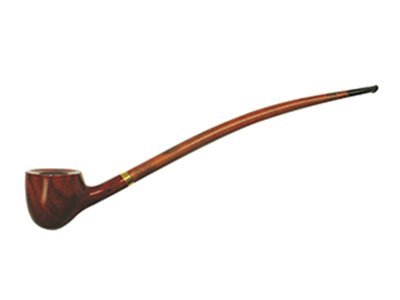 11' F.e.s.s. Deep Bowl Long Churchwarden Tobacco Smoking Pipe with Gift Box