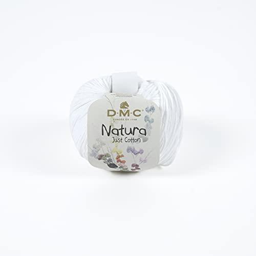 DMC Natura Pelote de fils à tricoter 100% coton Ibiza N01