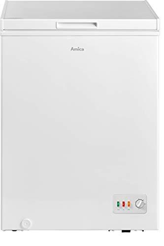 Amica AGT 3110 W Gefriertruhe / weiß / 100 Liter / 1 Gefrierkorb / 4-Sterne-Fach / FrostControl