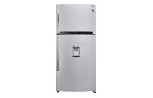 LG GTF744NSPM Libera installazione 511L A++ Acciaio inossidabile frigorifero con congelatore