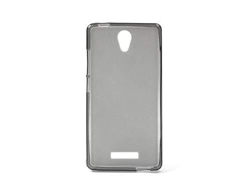 etuo Handyhülle für Allview P6 Energy Lite - Hülle FLEXmat Case - Schwarz - Handyhülle Schutzhülle Etui Case Cover Tasche für Handy