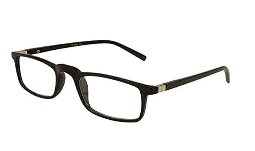 AUGEN by VisionsIndia Unisex Rectangle Black Full Frame Power Reading Glasses