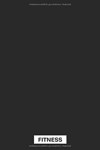 Fitness: Profi Fitness Tagebuch für das Fitness Studio • No Excuse • Trainingsbuch mit Erfolg-Vergleichsseiten, Ernährung, Kardio und kurzen ... ║ Softcover Fitnessbuch - ca. DIN A5 Format