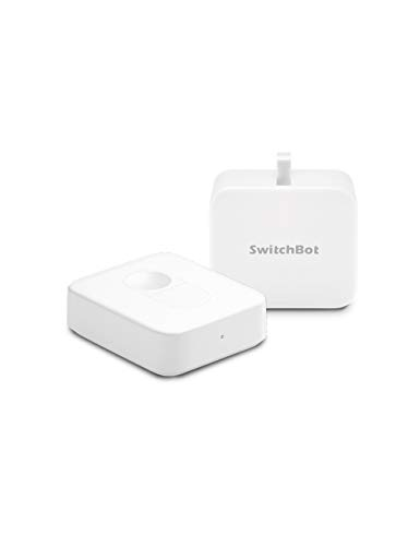 「Compatible with Alexa認定」SwitchBot スイッチボット スイッチ ボタンに適用 指ロボット + リモートボタン