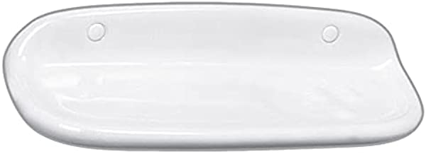 Ideal Ceramic Soap Dishes - White , 2724558125616