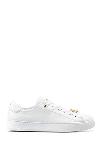 HUGO Damen Piper Lace C Sneaker, White100, 36