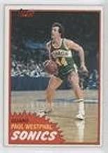 Paul Westphal (Basketball Card) 1981-82 Topps - [Base] #101W