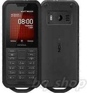Nokia 800 Tough Feature Phone, Dual SIM, 512 MB RAM, 4G LTE, Black