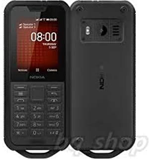 Nokia 800 Tough 4GB ROM 512Mb RAM Dual Sim 4G LTE Color BLACK(UAE version)