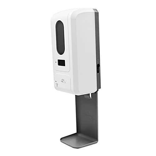 non-brand Dispensador de jabón de Mano montado en la Pared con termómetro Pro automático de medición de Temperatura máquina de desinfección para Uso en la