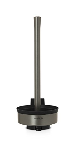 Brabantia 483424 - Dispensador de 3 Rollos de Papel para WC, Color Platinum