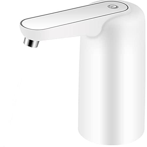SDFD Dispensador de Agua eléctrica portátil, Bomba de Agua táctil, Recargable y de Larga batería, Adecuada para el hogar, la Oficina, el Camping, Interiores