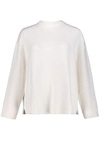 Studio Untold Damen große Größen Rollkragen-Pullover Offwhite 54+ 751524 21-54+