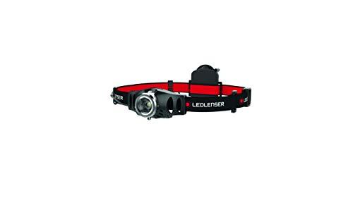Ledlenser 500768 Linterna frontal, rojo/negro, small