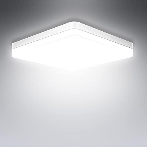 LED Deckenleuchte 36W, Ouyulong 6500K 3240LM Deckenlampe für Wohnzimmer, Schlafzimmer, Küche, Flur, Balkon, Esszimmer, Weiß