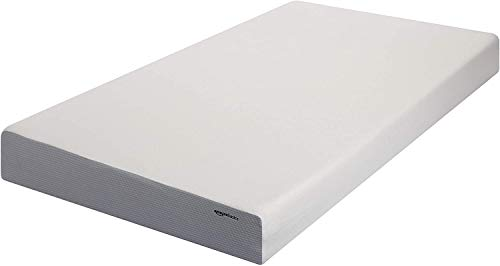 AmazonBasics 8-Inch Memory Foam Mattress - Soft Plush Feel, Twin