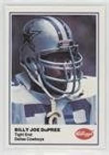 Billy Joe DuPree (Football Card) 1982 Kellogg's - [Base] #BJDU