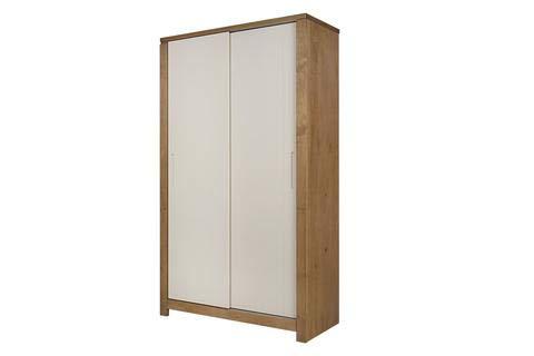 Soho - Armario con 2 puertas correderas, color blanco