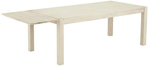 Ibbe Design Furniture uitbreiding blad, massief en eiken fineer, zeep-afwerking, L50x B100x H2,5 cm