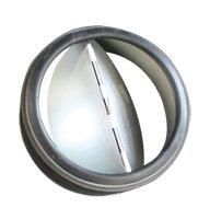 Clapet anti-retour - Diamètre sortie : 125 mm - UNELVENT