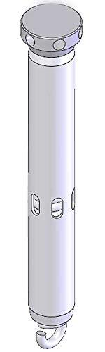 Federbandbolzen Ø 19 mm für Brandschutztüren