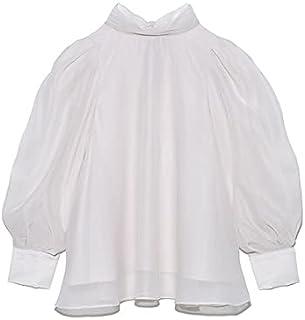 [Snidel] 欧根纱透明衬衫 SWFB215086 女款