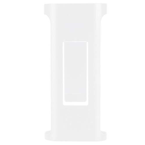 Clip de cinturón trasero negro/blanco de estilo simple Mano de obra fina Material ABS Clip trasero ligero, para radio, para Walkie-talkie inteligente Mijia, para Walkie Talkie(white)