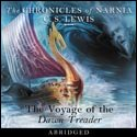 The Voyage of the Dawn Treader audiobook cover art