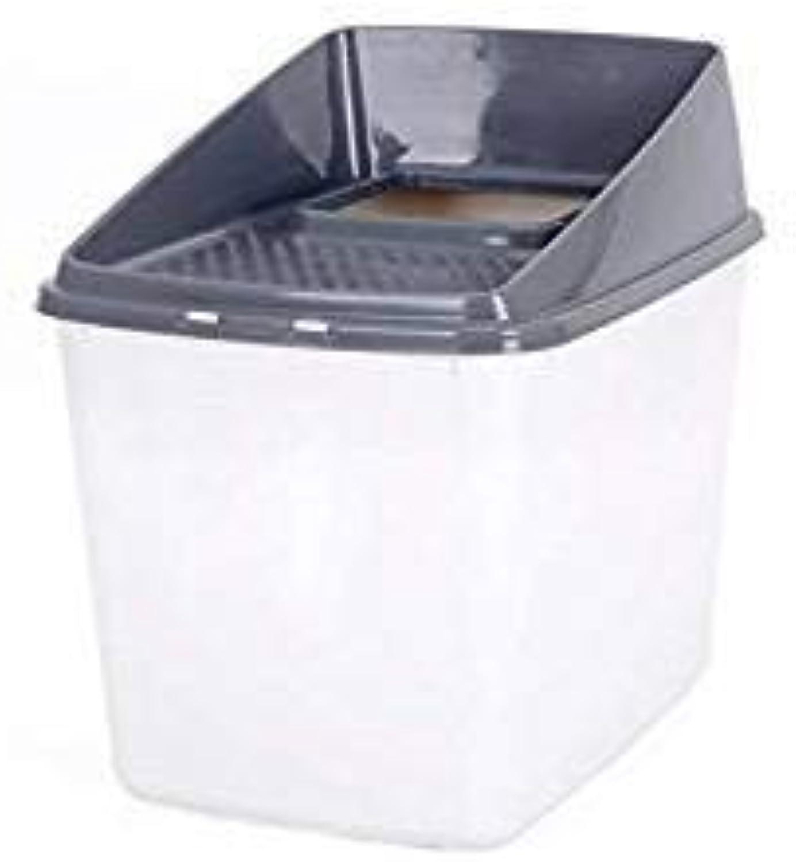 LMXUE Cat Litter Box /Hooded Cat Pan Fully Enclosed /Litter T  Toilet, Large SplashProve Igienic, Deodorizzando Odour Free